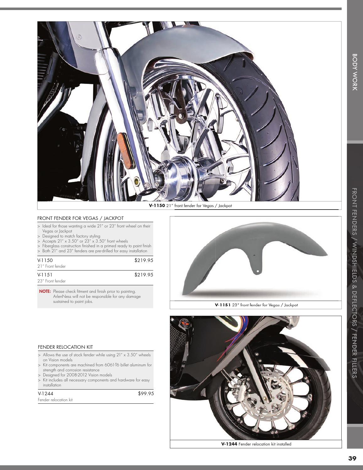 Arlen Ness 2015 Parts & Accessories For Victory
