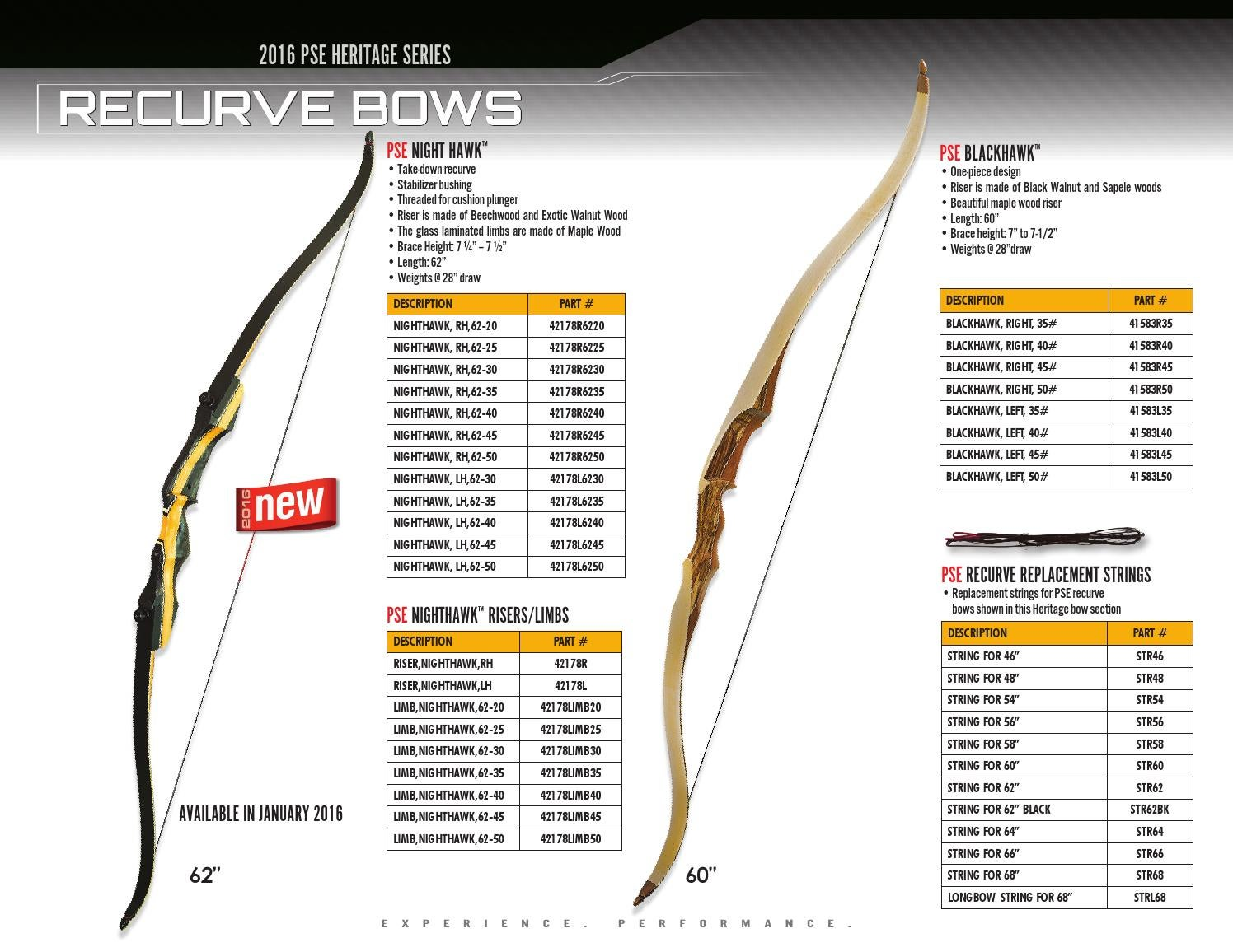 2016 PSE Heritage Series by PSE Archery - issuu