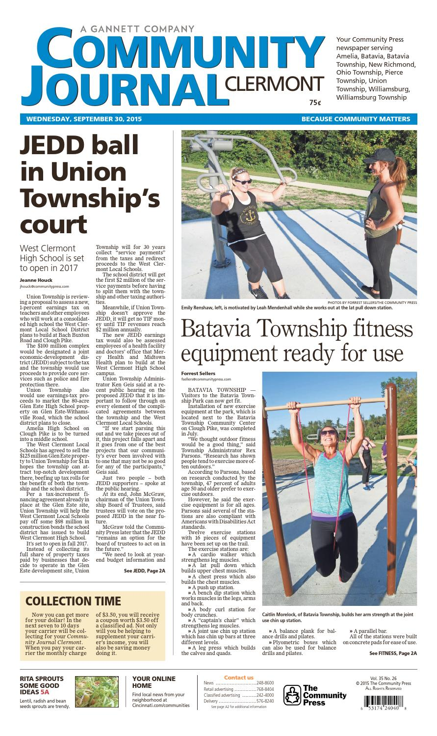 Community journal clermont 093015 by Enquirer Media - issuu on