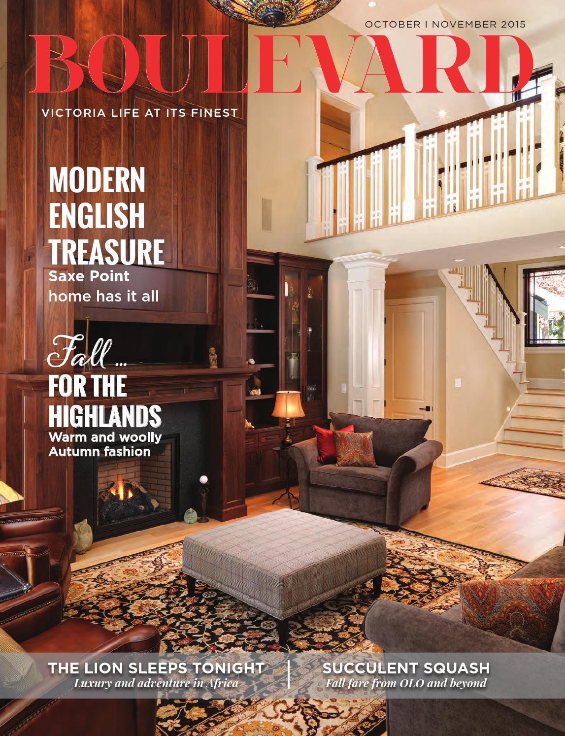 Boulevard Magazine October November 2015 Issue By Boulevard