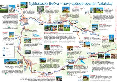 Cyklostezka Becva 2011 Mapa By Jiri Hrdy Issuu
