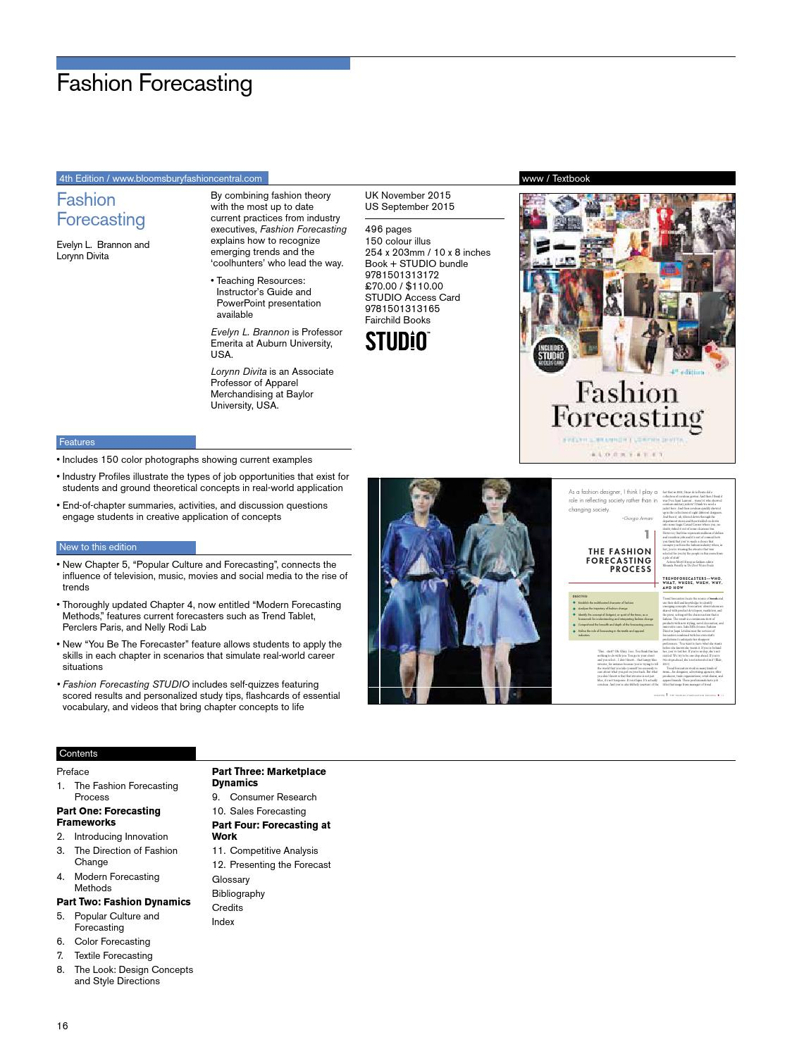 Fashion And Textiles 2016 Us Catalog By Bloomsbury Publishing Issuu