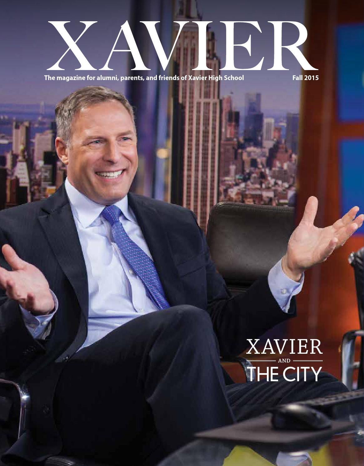dca25e6a0b6 Xavier Magazine: Fall 2015 by Xavier High School - issuu
