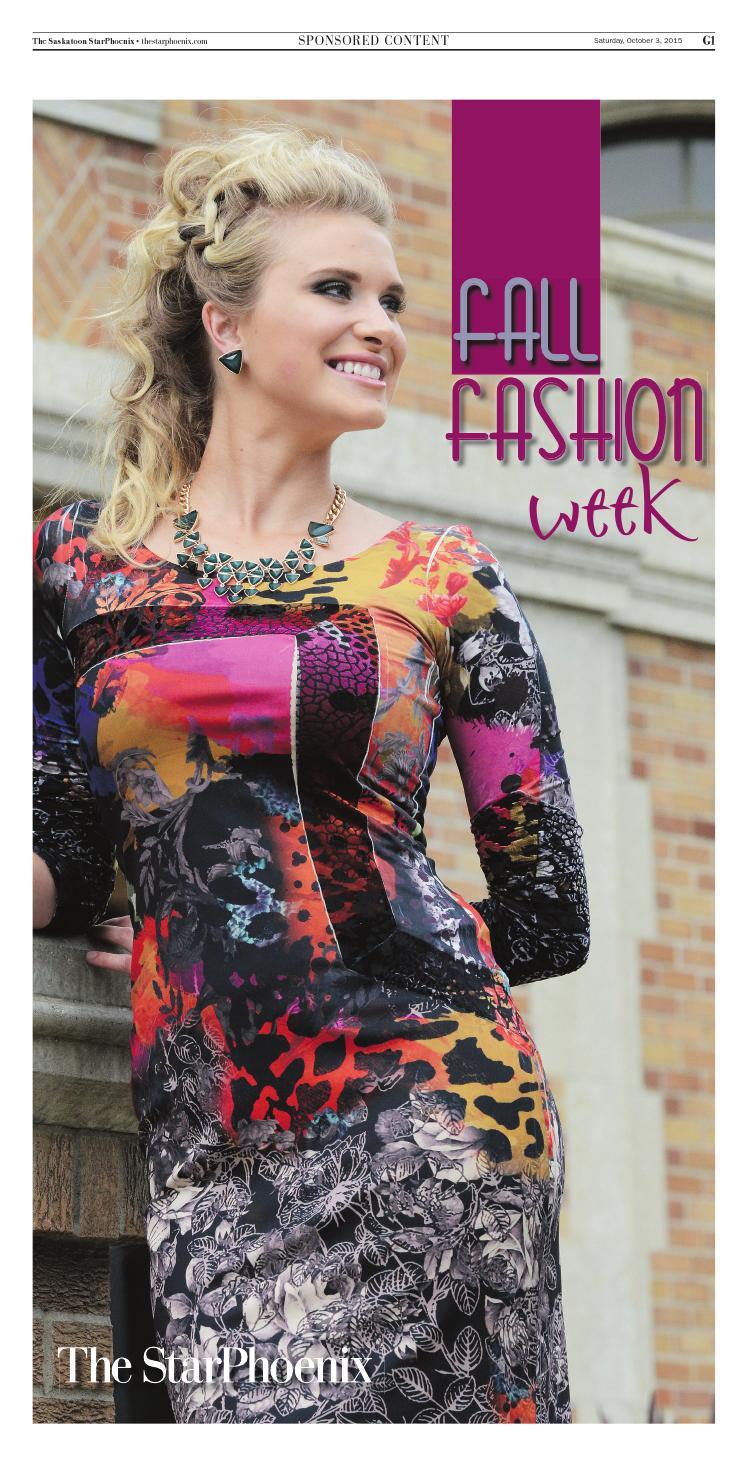 2afbdae1f9 Star Phoenix Fall Fashion Week 2015 by Postmedia Saskatchewan - issuu
