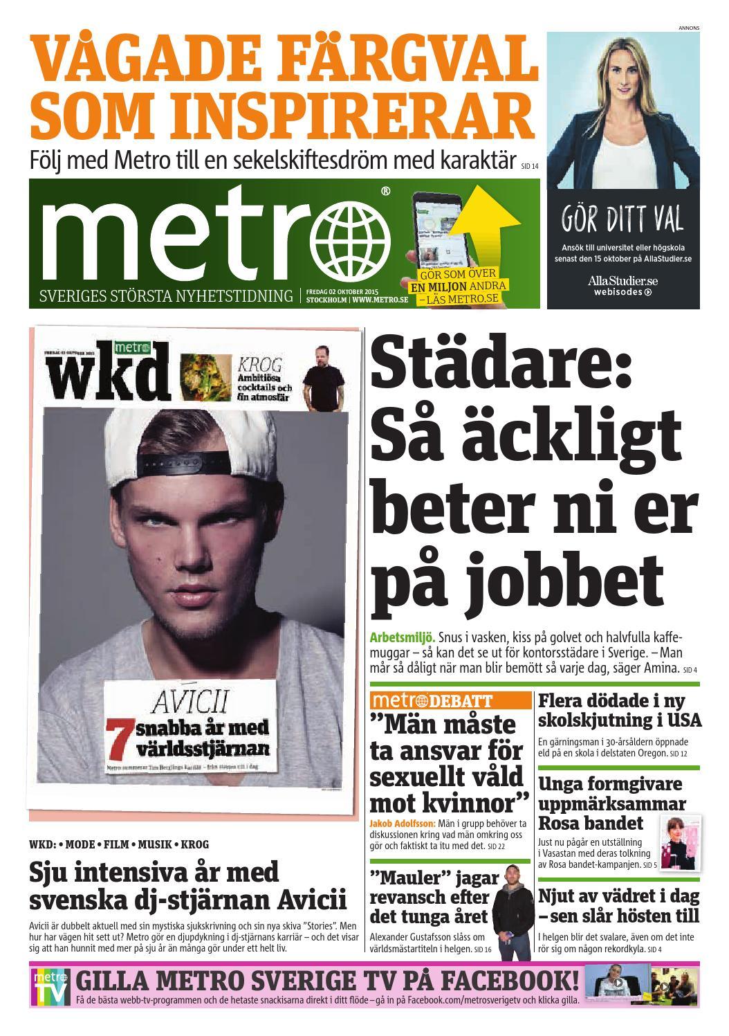 half off b480f c48f6 20151002 se stockholm by Metro Sweden - issuu