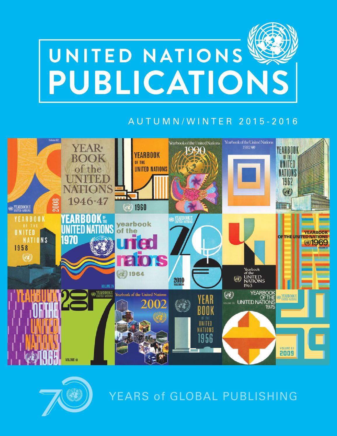UN Publications Autumn Winter 2015 2016 Catalogue by United Nations  Publications - issuu a22e0e812c