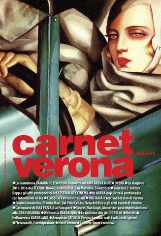 256e9a57adc2 Carnet Ottobre 2015 by Staff CarnetVerona - issuu