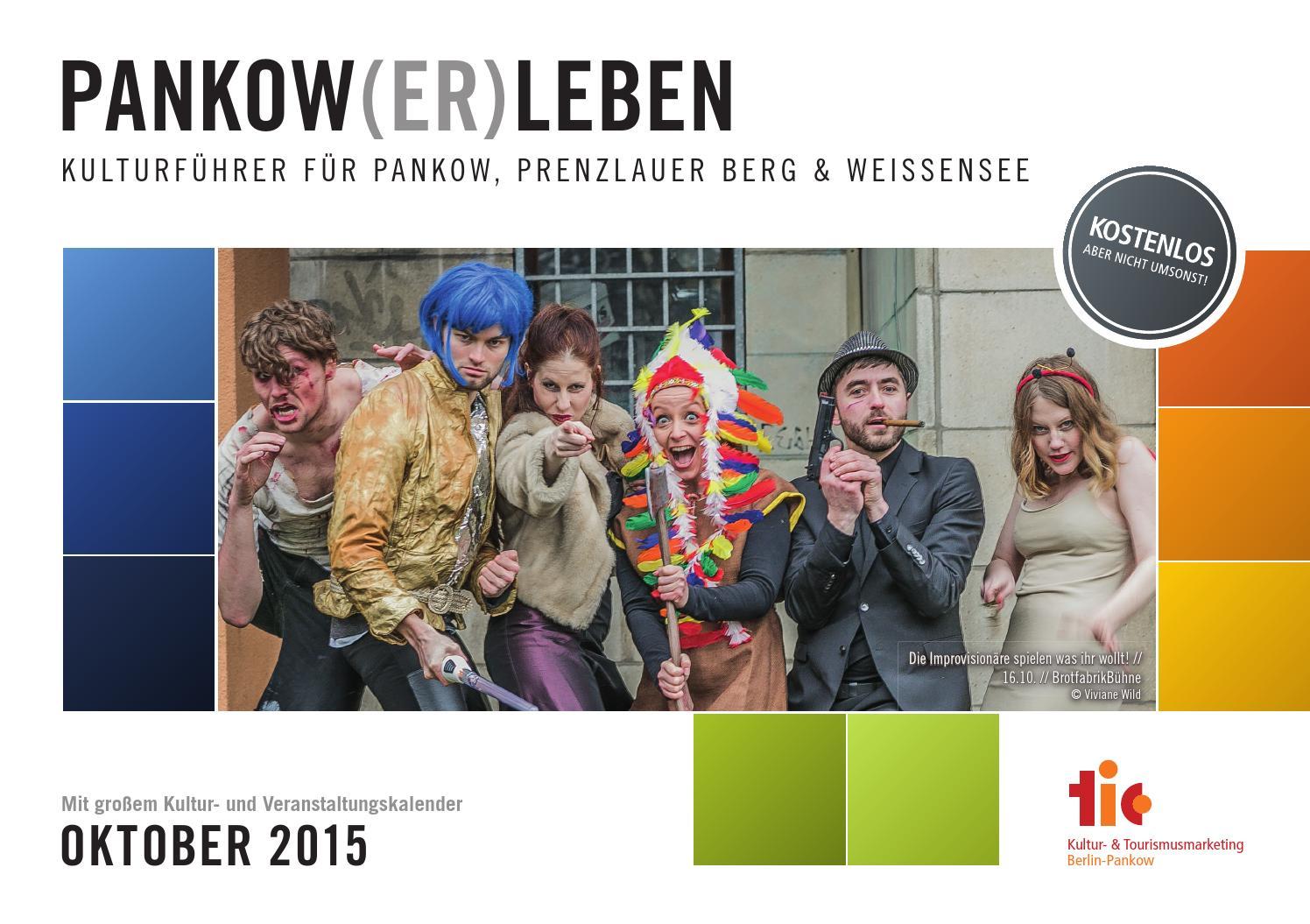 Kulturführer PANKOW(ER)LEBEN // Oktober 2015 by IN TOUCH