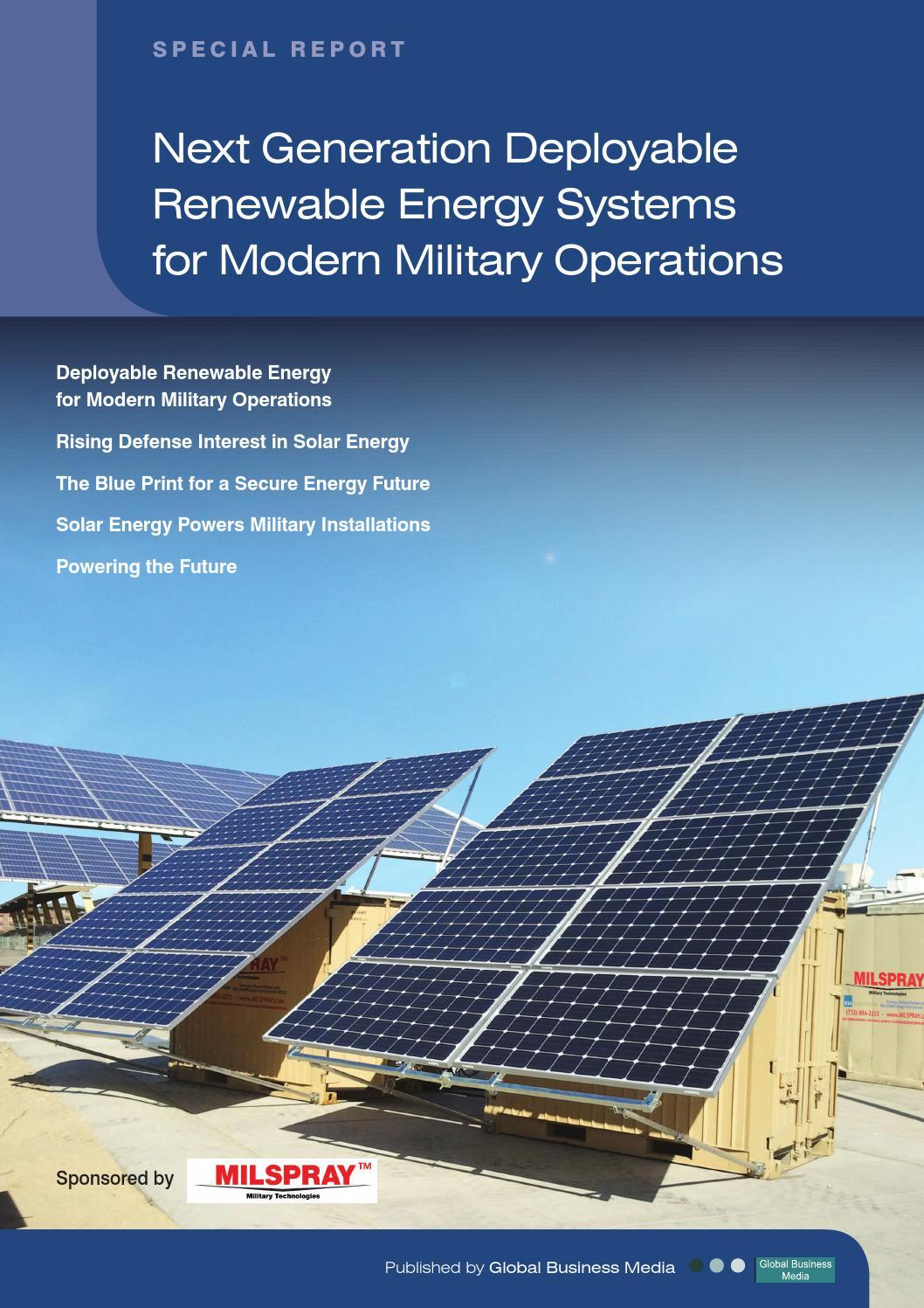 renewable energy systems essay