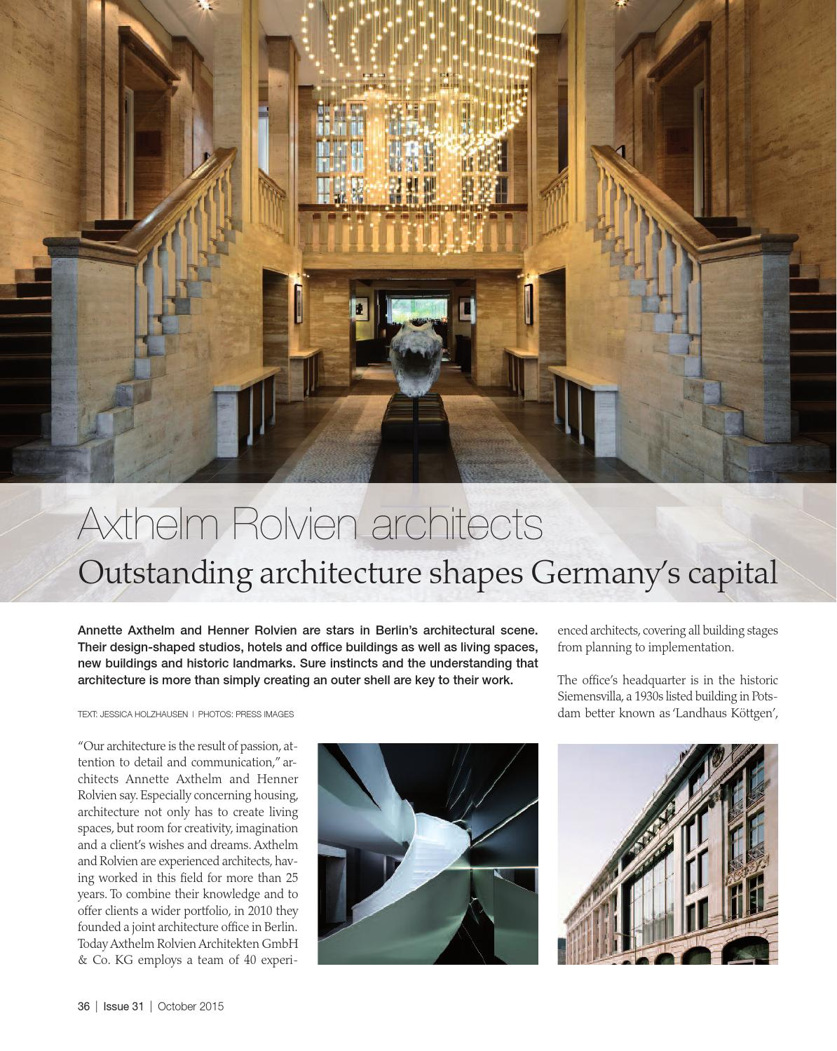 Discover Germany Issue 31 October 2015 By Scan Group Issuu