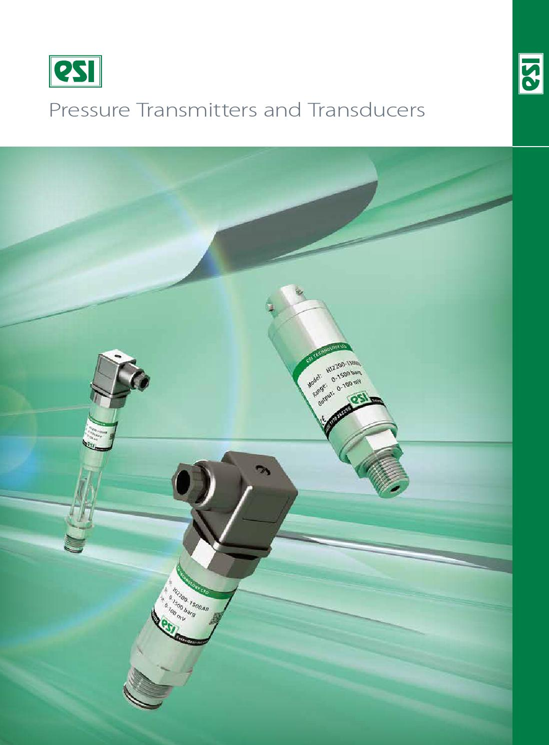 Esi Pressure Transmitters And Transducers By Jet Digital Media Ltd Ic Power Pm8005 002 Issuu