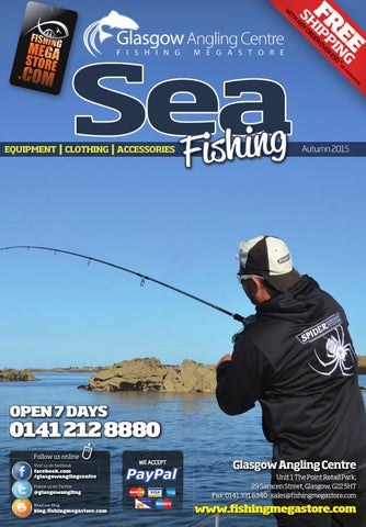 58de469a515 Sea2015autumn by Fishing Megastore - Glasgow Angling Centre - issuu