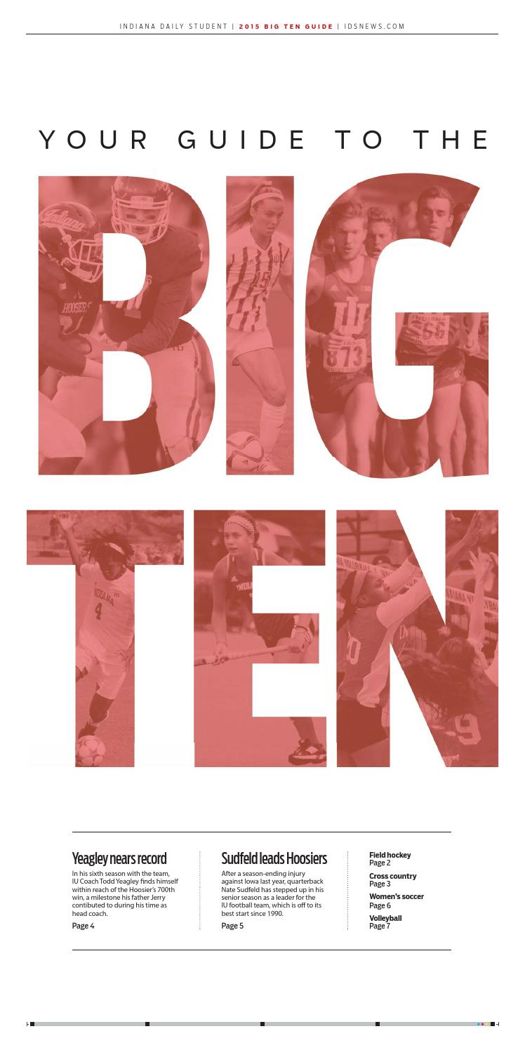2015 Big 10 Sports Guide