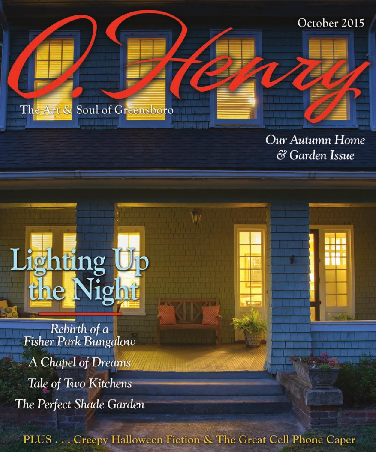 O.Henry October 2015 by O.Henry magazine - issuu