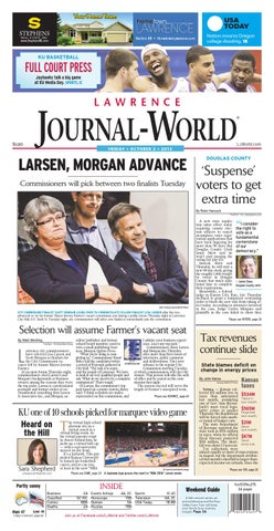 512e61ae Lawrence Journal-World 10-02-2015 by Lawrence Journal-World - issuu