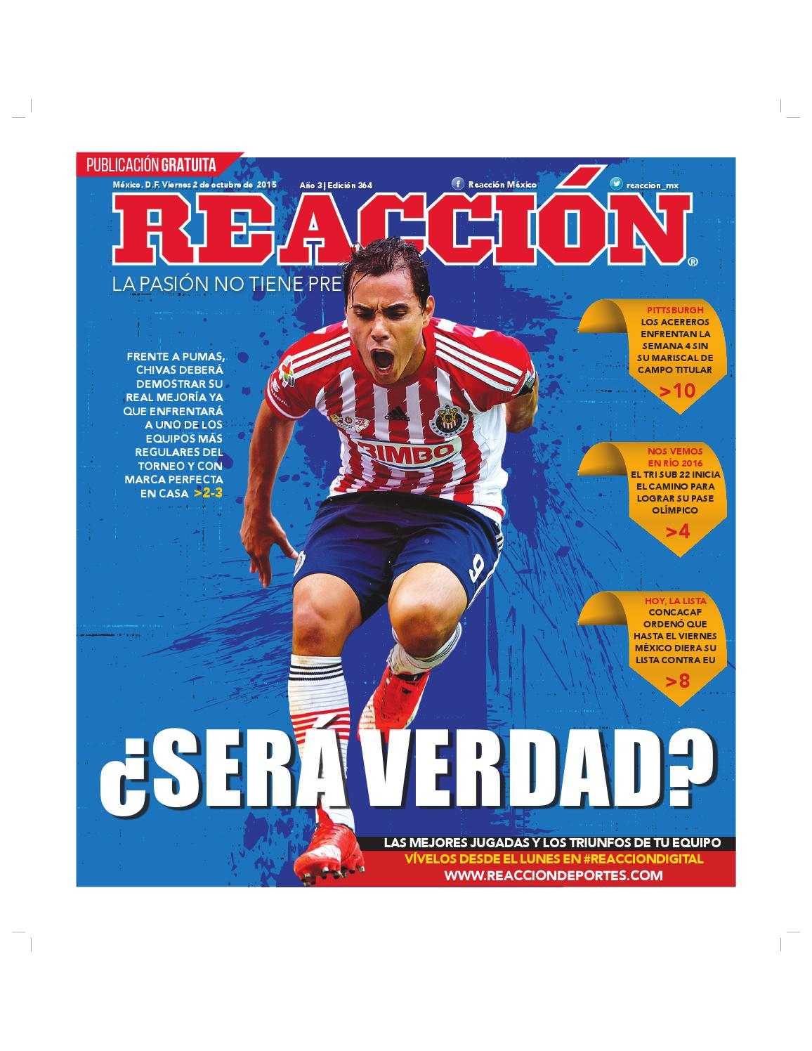 Reaccion 364 by Contacto Reacción - issuu 482600923a8