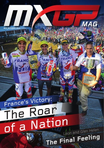 MXGP #25 October 2015 by MXGP MAG - issuu