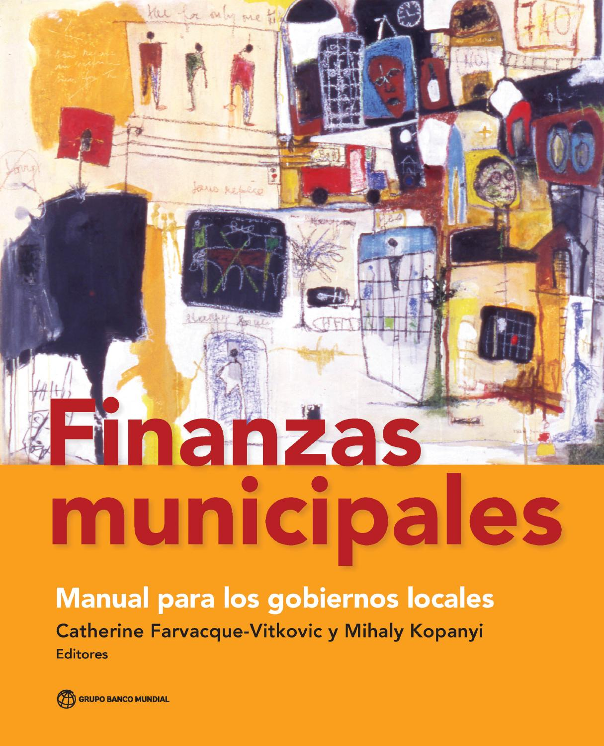 Finanzas municipales by World Bank Publications - issuu