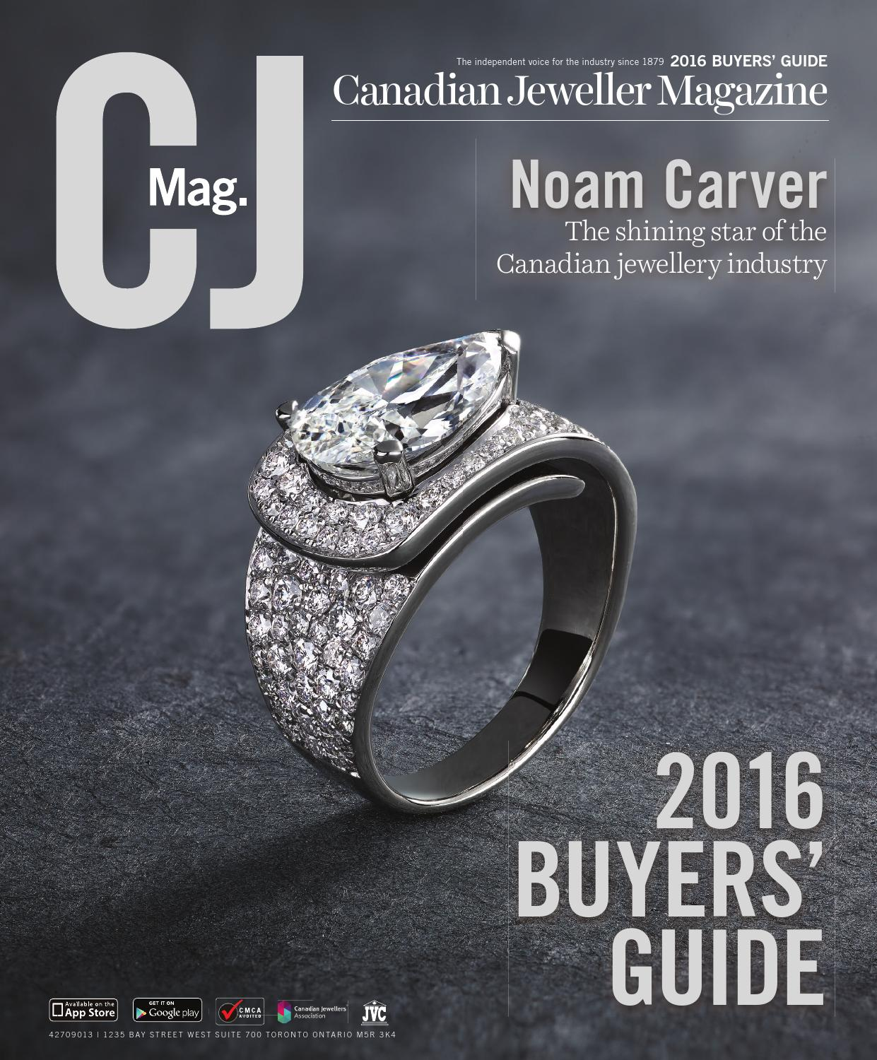 Cj 2016 Buyers Guide By Canadian Jeweller Magazine Issuu