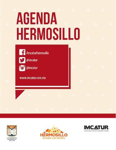 """Cover of """"003 Agenda Hermosillo del 2 al 8 de octubre 2015"""""""