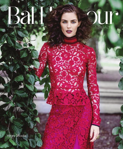 24f4f1be3290d Bal Harbour Magazine - Fall 2015 by Bal Harbour Shops - issuu