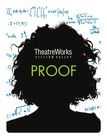 Proof study guide by TheatreWorks Education - Issuu