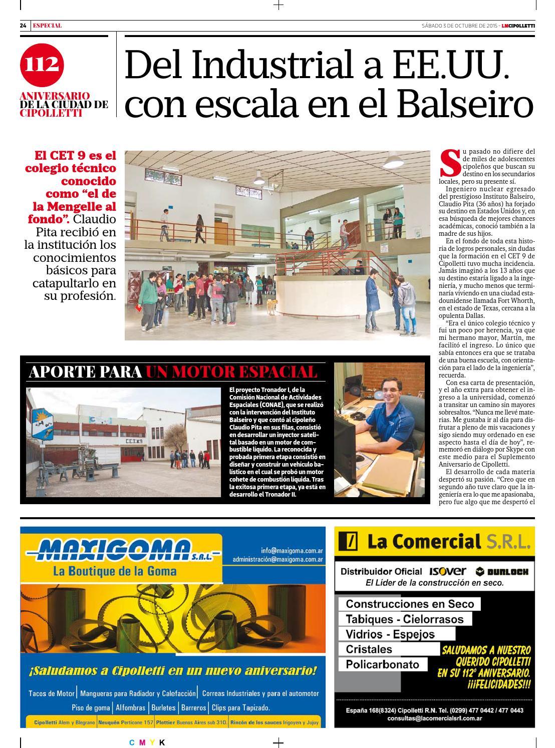 Suplemento 112 aniversario cipolletti 2015 10 03 by Diario