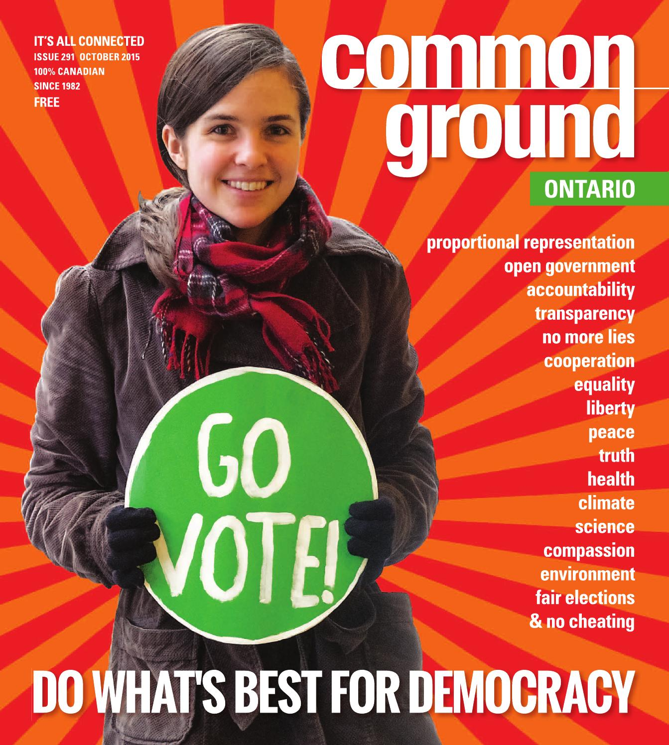 Common Ground Oct 2015 Eastern Edition By Common Ground
