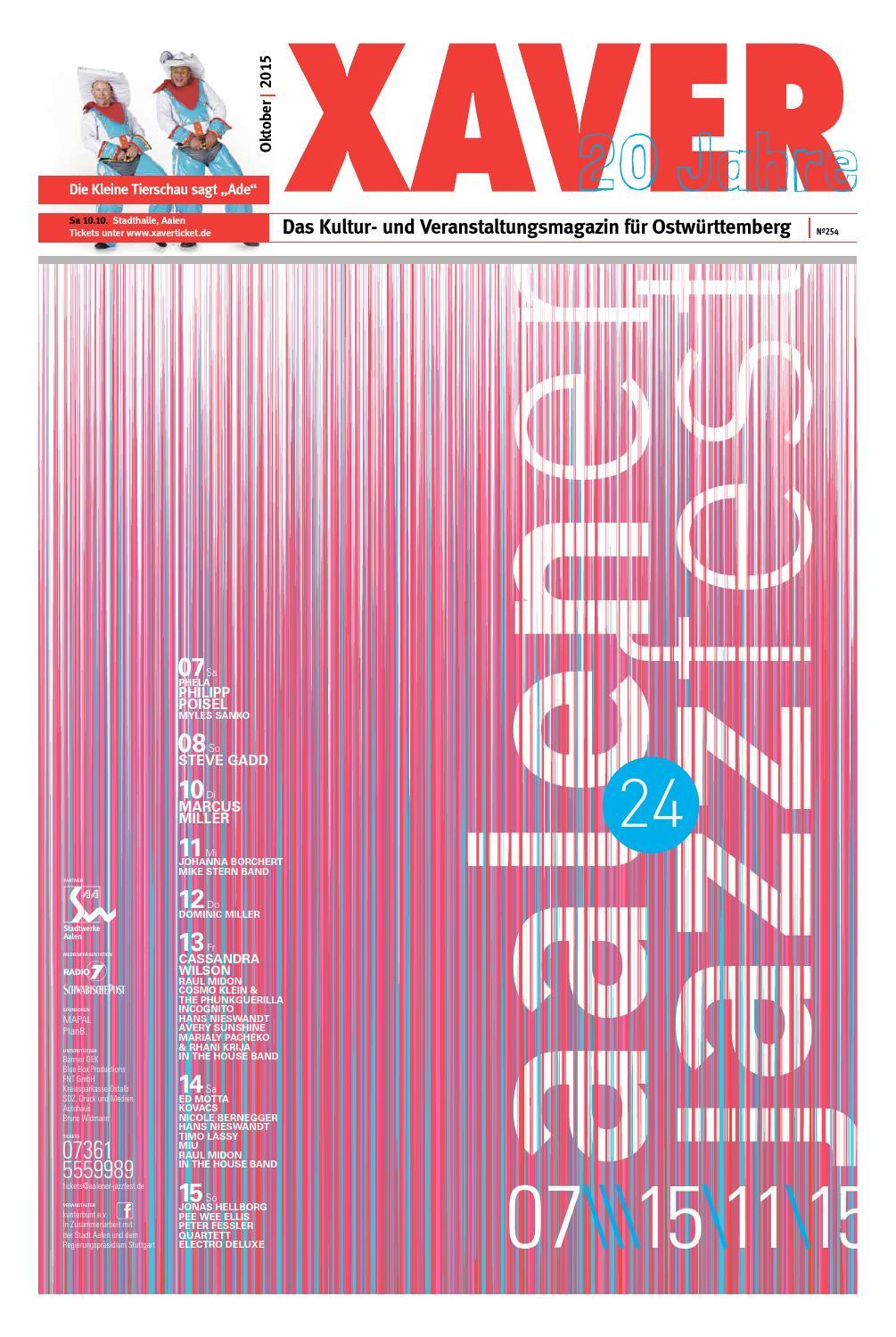 XAVER 10 | 2015 by Hariolf Erhardt - issuu