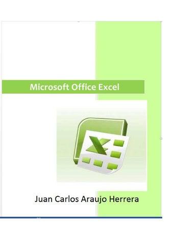 Microsoft excel araujo by carlos Araujo Herrera - issuu