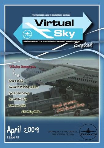 Virtual Sky - 5th issue by International Virtual Aviation