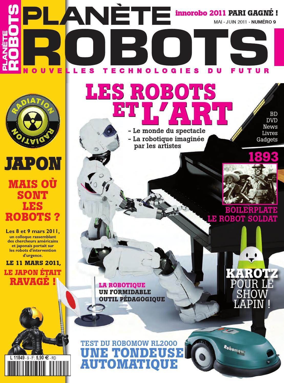 Planète Robots Numéro 9 By Planète Robots Issuu