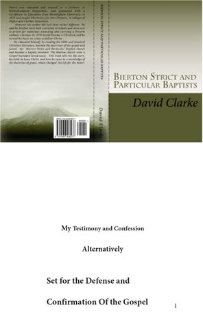 Bierton Strict and Particular Baptists by David Clarke - issuu 482682c1254f