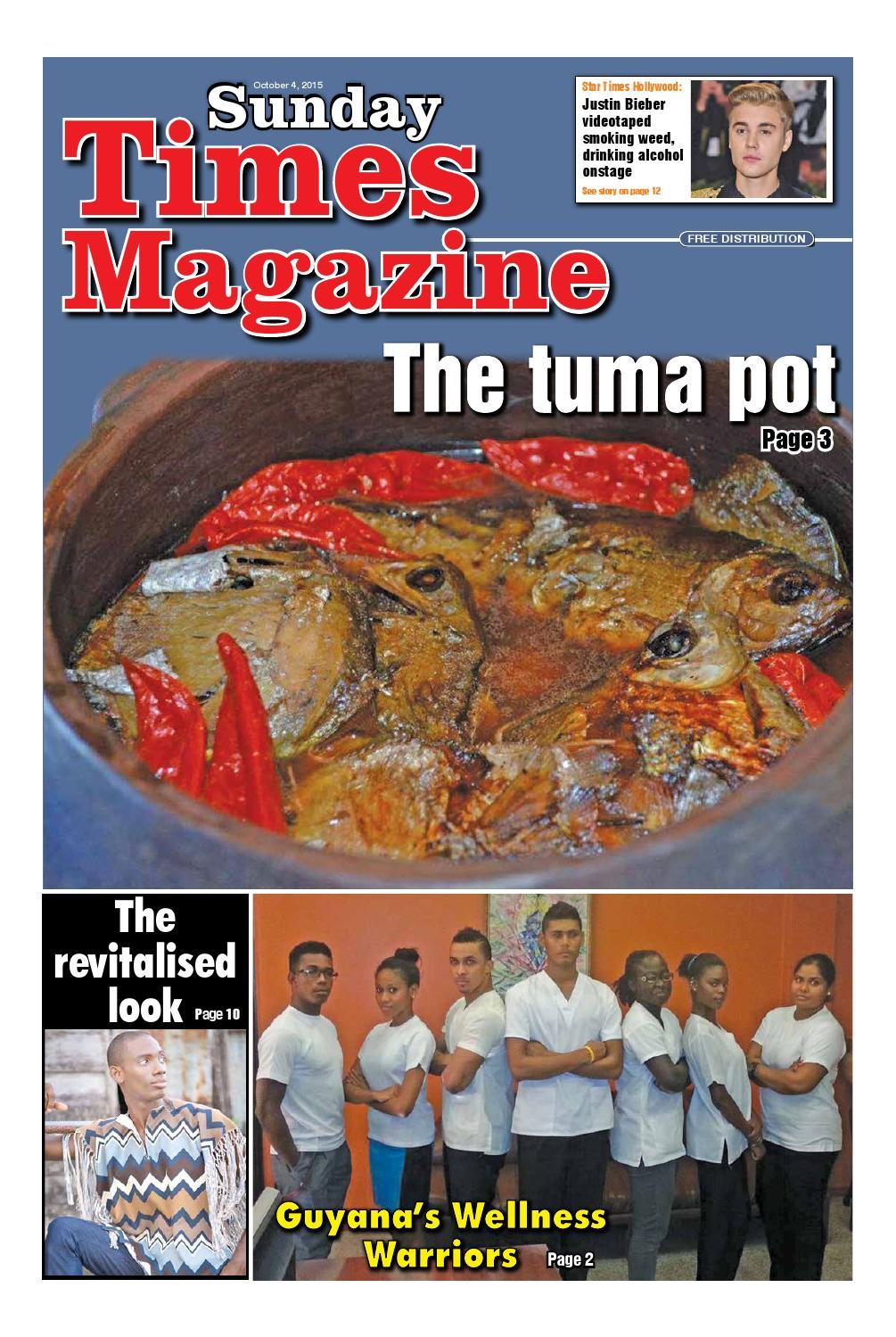 Guyana Times Sunday Magazine