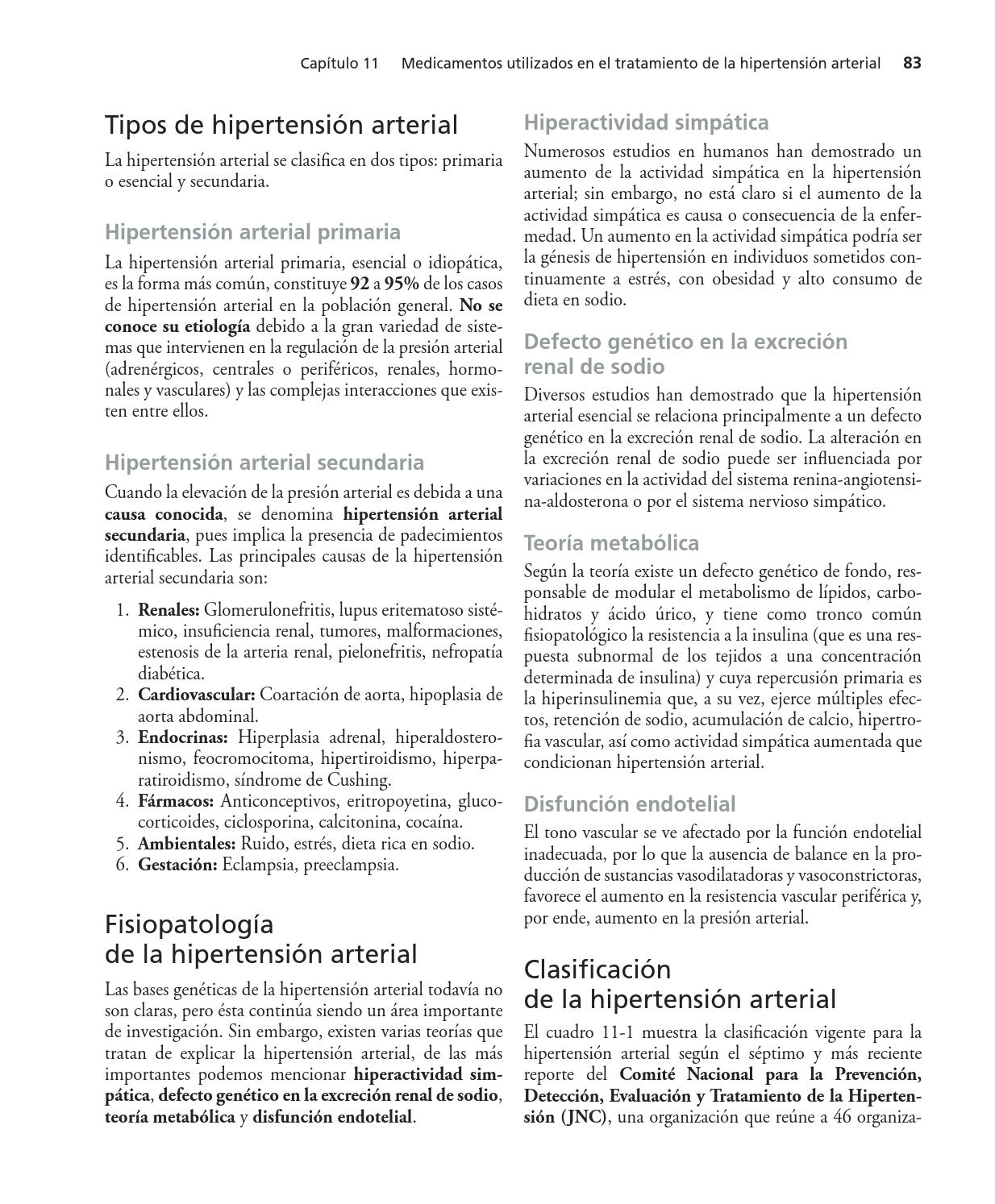 Hipertensión simpática hiperactividad