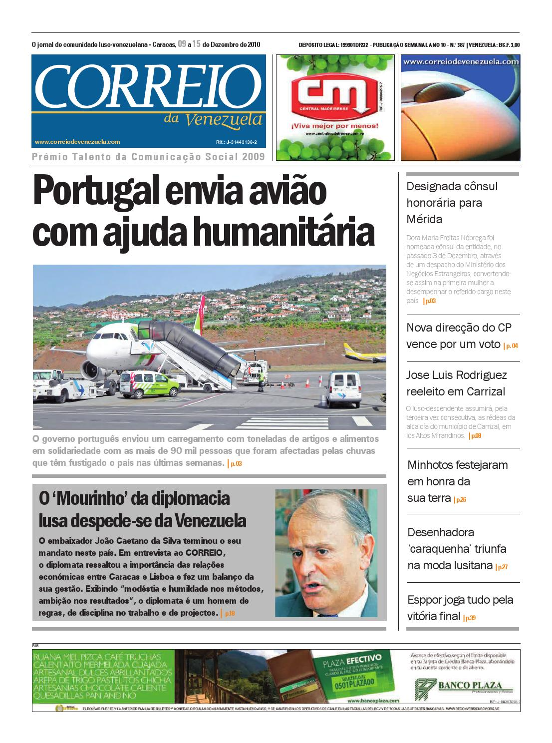 Correio da Venezuela 387 by Correio da Venezuela - issuu 3554292785a21