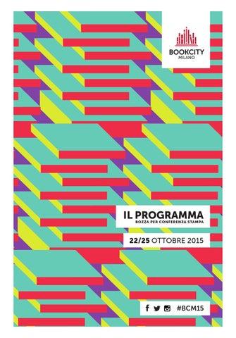 Programma bookcity milano 2015 by Regin - issuu 31c7f2b927b
