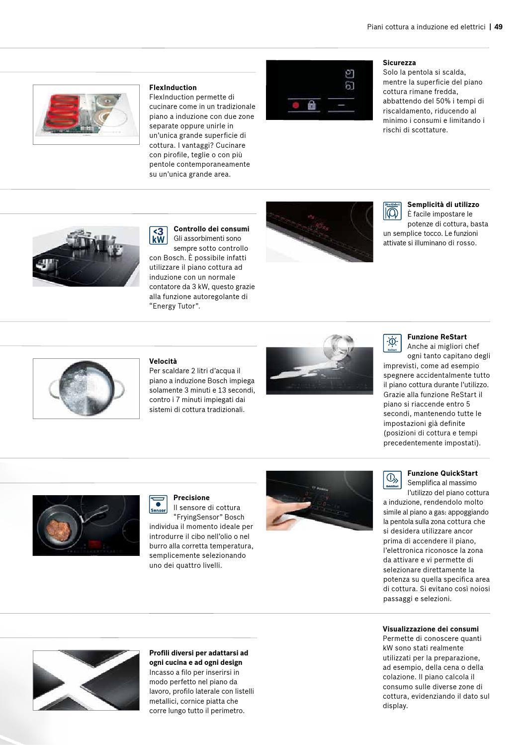 Piano Ad Induzione Consumi catalogo bosch incasso 2015 by pegoiani expert - issuu