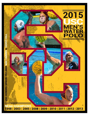95050d8e72a 2015 USC Men s Water Polo Media Guide by Darcy Couch - issuu
