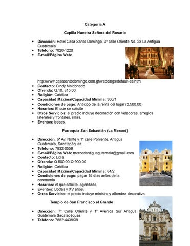 Iglesias Antigua By Catalogo De Proveedores Issuu