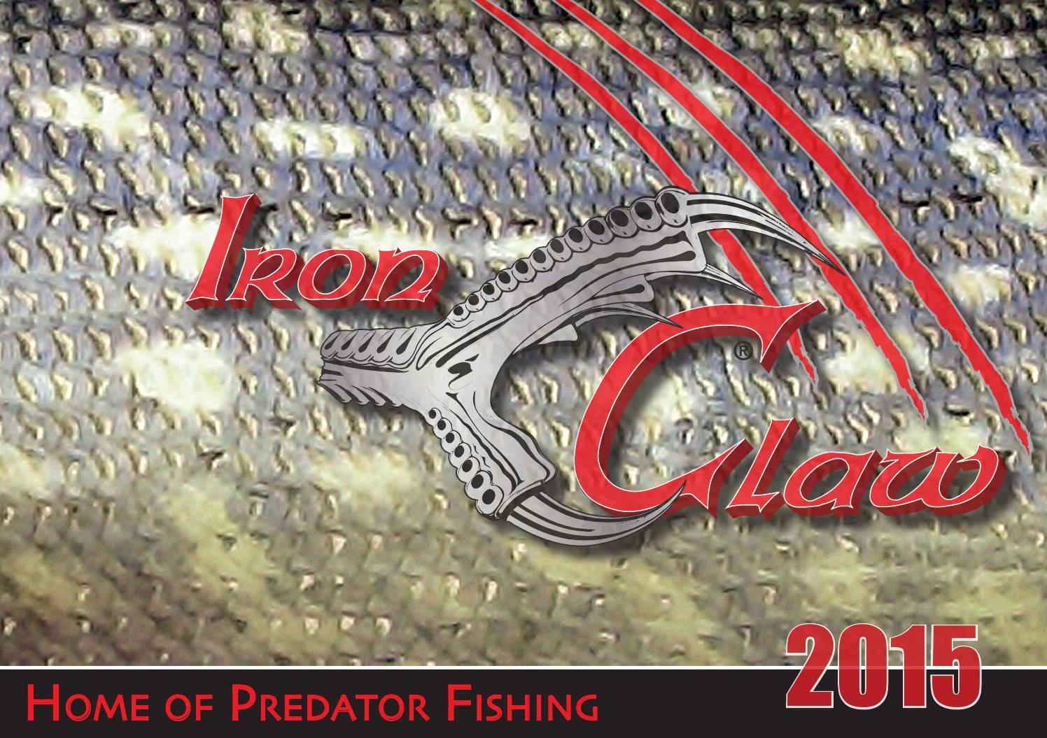 Barschangeln Sänger Iron Claw Bull-It-Spinner 2,5g oder 3,4g Forellen-