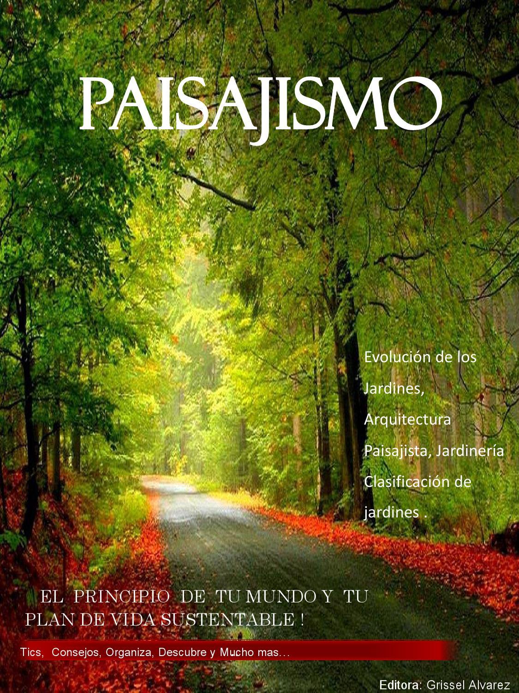 Revista arquitectura paisajista y jardineria by dise osag for Paginas de jardineria