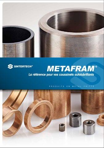 Bagues bronze metafram