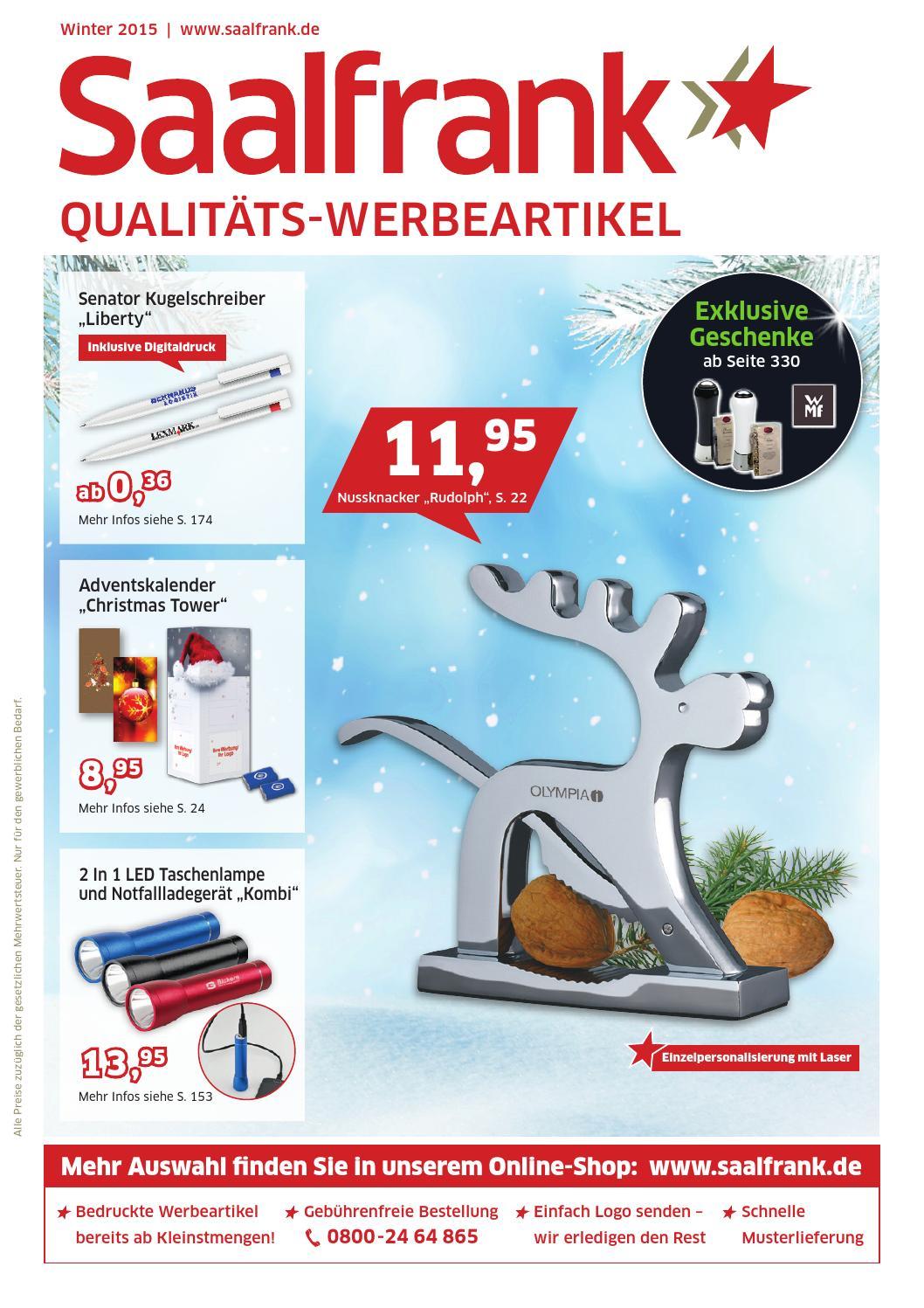 Saalfrank Qualitäts-Werbeartikel Katalog Winter 2015 by Bettmer ...