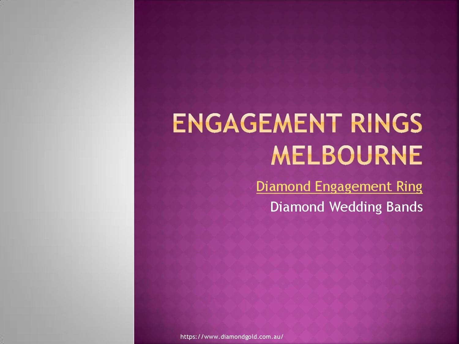 Engagement rings melbourne by Diamondringsmelbourn - issuu