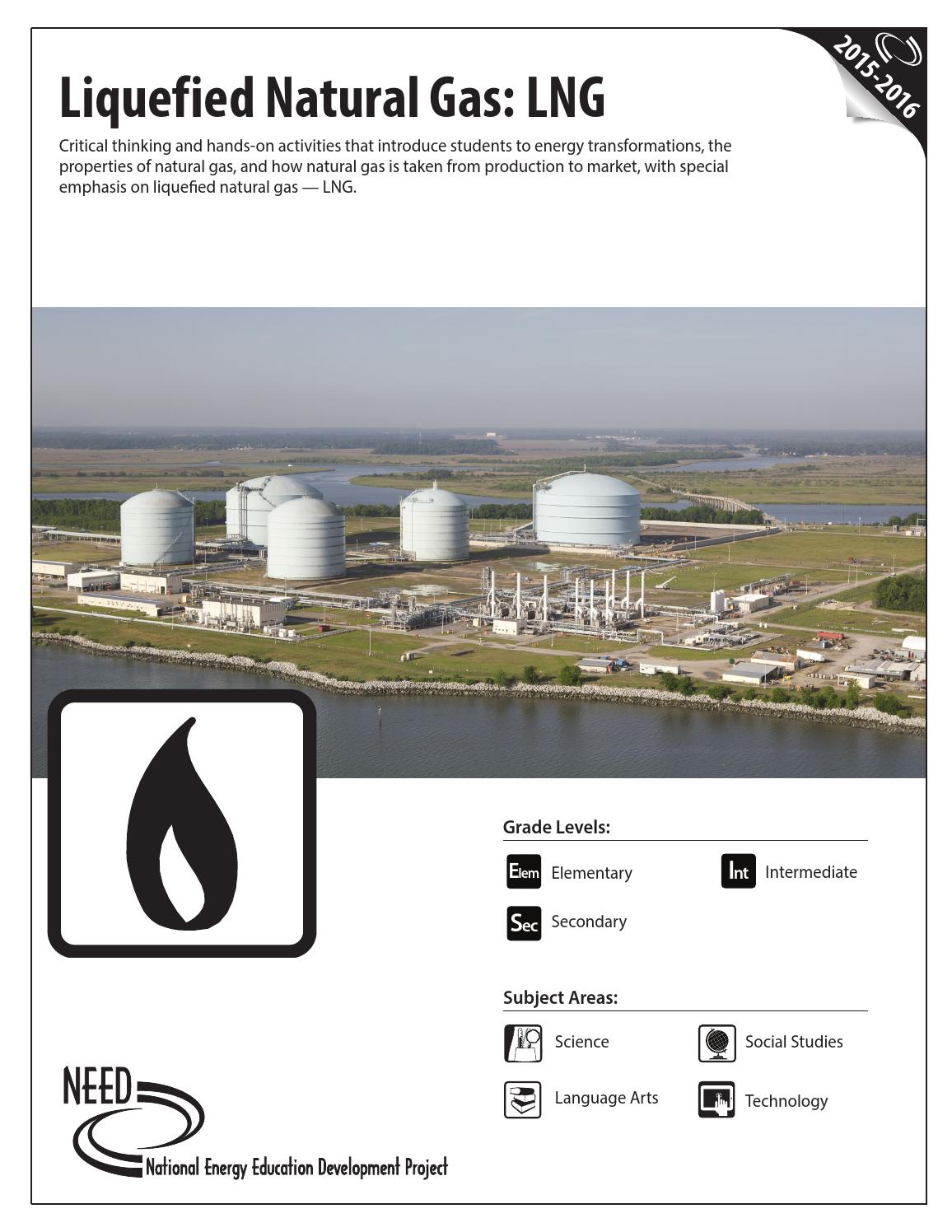 Liquefied Natural Gas By Need Project Issuu