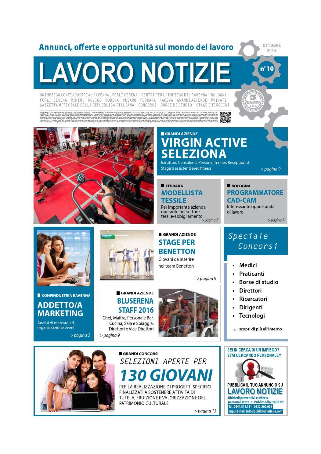 Lavoro notizie ottobre 2015 by Edit Italia S r l  - issuu