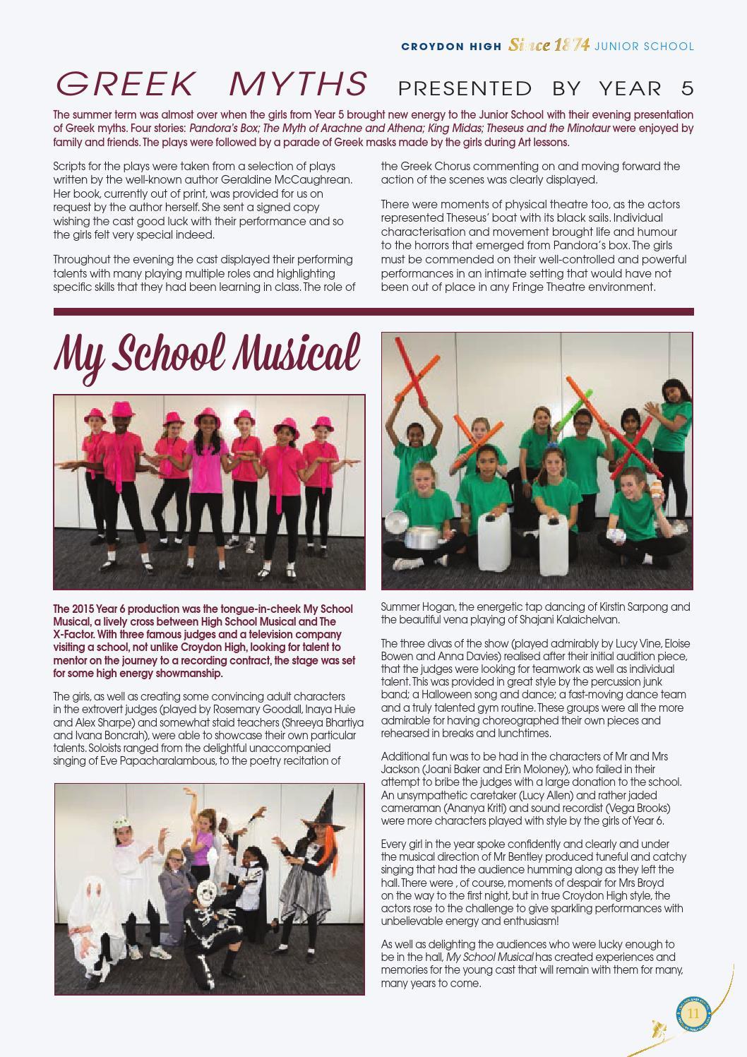 Chs the magazine 2015 v1 by GDST - issuu