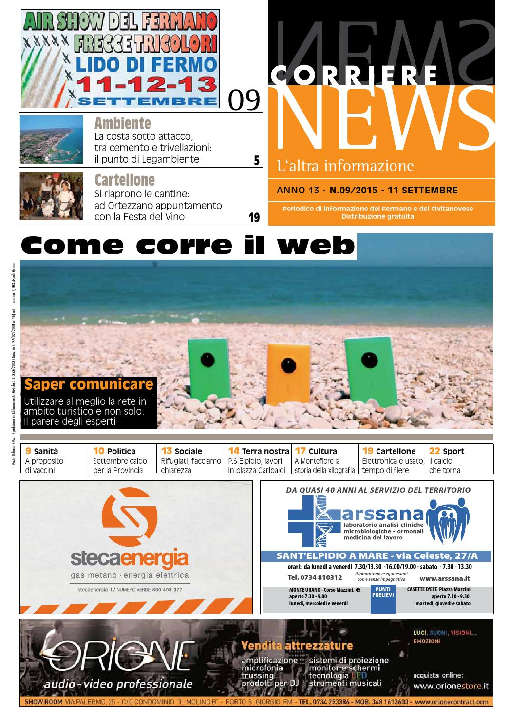 2187b050c3 CORRIERE NEWS SETTEMBRE 2015 by Corriere News - issuu