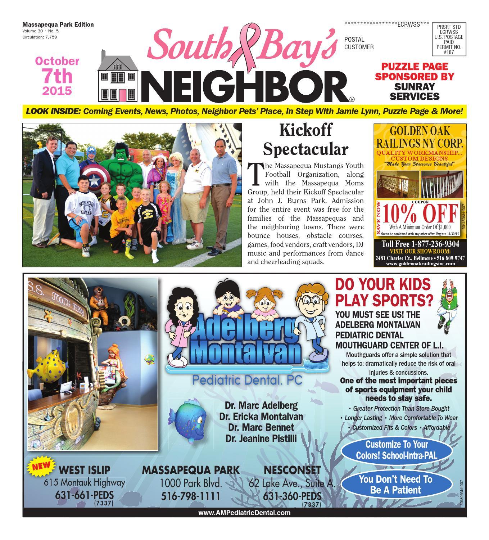 October 7, 2015 Massapequa Park by South Bay\'s Neighbor Newspapers ...